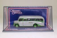 Corgi OOC 42604; Bedford OB Duple Vista Coach; Grey Green; Rte 76 Tottenham Court Road, Edmonton, Victoria