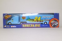 Action Racing Collectibles 15878; Kenworth Conventional Artic; NASCAR Racing Trailer, Jeff Gordon