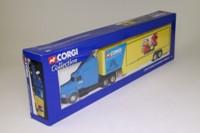 Corgi Superhaulers 56001; Ford Aeromax Truck; Artic Box Trailer, Corgi Roadshow Vehicle