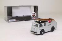 Oxford Diecast 76F8005; Dennis F8 Fire Engine; Devonshire Fire Brigade