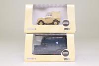 Oxford Diecast 00; Bargain Box; Assorted 1:76 Scale Vans, Trucks & Buses