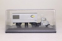 Oxford Diecast 76RAB003; Scammell Scarab; Artic Parcels Van, Rail Freight