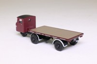 Oxford Diecast 76MH009; Scammell Mechanical Horse; Flatbed Trailer, LMS Railway