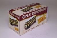 Atlas Editions 4 655 107; AEC Q Double Deck Bus; Cardiff Corporation; 38 Rhiwbina Deri via PantBach Rd