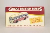 Atlas Editions 4 655 118; Burlingham Seagull Coach; Ribble: Scottish Tour