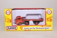 Classix EM76505; Jensen Jen Tug Jen-Helec; Artic Flatbed, Corona Soft Drinks