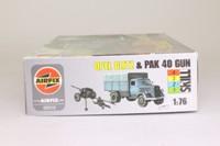 Airfix 02315; Opel Blitz Truck & PAK 40 Gun; Unassembled Plastic Kit