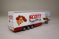 Oxford Diecast SCA02FR_T; Artic Fridge Trailer; Scott Trawlers Ltd