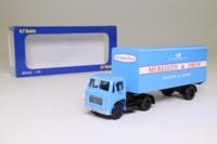 Base Toys D69; Leyland Beaver Artic; Box Trailer, Meredith & Drew