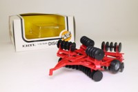 ERTL 1982; Farm Implement, Disc Harrow; Fold-Out Wings, Red