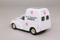 Oxford Diecast MM037; Morris Minor Van; High Roof, Pink Paraffin
