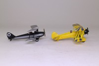 Days Gone Lledo PA1002; Barnstorming Duo 2 Biplane Set; Stearman Kaydet & Tiger Moth