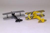 Days Gone Lledo PA1002; Barnstorming Duo 2 Biplane Set; Stearman Kaydet & Tiger Moth