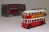 Corgi OOC 97813; Weymann /BUT Trolleybus; Brighton Hove & District; Rte 42 Brighton Stn, Seven Dials, Elm Grove