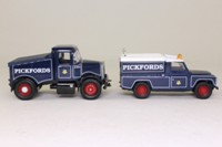 Corgi Classics 16601; Scammell Highwayman; Ballast Tractor & Land-Rover 109 Set, Pickfords