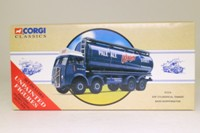 Corgi Classics 97319; ERF V; 8 Wheel Rigid Cylindrical Tanker, Bass Worthington