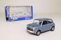 Corgi Classics 94145; BL/Rover Mini; Neon, Metallic Blue