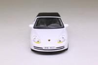 Cararama 87923; 1999 Porsche 911 Cabrio; Soft Top, White