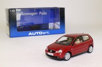 Auto Art 59767; 2002 Volkswagen Polo; Muranorot Perleffekt
