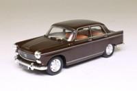 Altaya; Peugeot 404; Saloon, Dark Brown