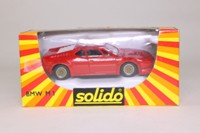 Solido 1355; 1978 BMW M1 Coupe; Road Version, Red