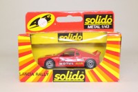 Solido 1205; 1983 Lancia 037 Rally; Rally Car, Motul
