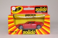 Solido 1209; 1978 BMW M1 Coupe; Road Version, Red