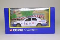 Corgi Classics 59301; Ford Sierra Sapphire RS Cosworth 4x4; 1977 Network Q Rally, Corgi Classics, RN97