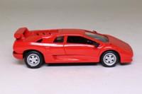 del Prado 00; 1989 Lamborghini Diablo; Red