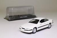 del Prado; 1990 Opel Calibra; White