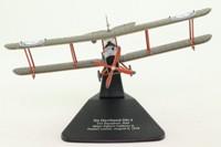 Oxford Diecast AD002; De Havilland/Airco DH4 Biplane; 212 Squadron RAF; Major Egbert Cadbury & Robert Leckie; August 1918