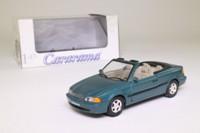 Cararama 00143; 1997 Volvo C70; Open Top, Metallic Green
