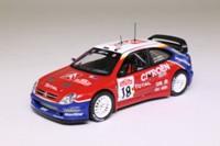 IXO RAM127; Citroen Xsara WRC; 2003 Sanremo Rally Winner, S Loeb, D Elena, RN18
