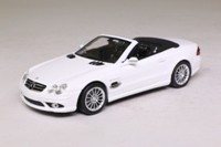 Minichamps 400 036170; 2007 Mercedes-Benz SL55 AMG; Alabasterweiss