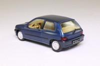 Solido 1520; 1990 Renault Clio; Metallic Blue, Opening Doors