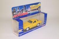 Majorette 2403; 1963 Chevrolette Corvette Sting Ray; Yellow