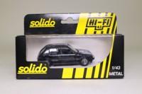Solido 1508; 1984 Peugeot 205 Gti; Black