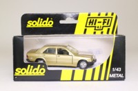 Solido 1506; Mercedes-Benz 190; Metallic Gold