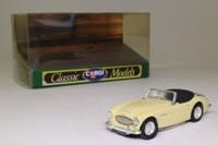 Corgi Classics 96240; Austin Healey 3000 Mk1; Open Top, Primrose Yellow, Tonneau Cover