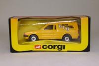 Corgi Classics 498; Ford Escort Van MkIII 55; Bolton Evening News