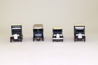 Days Gone Lledo PI1004; Pickfords 4 Truck Set; Pre-War Vans & Trucks