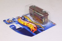 Hot Wheels 35; Boom Box; Burgundy; 2003 First Editions #23