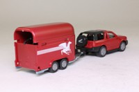 Siku 2010; Opel Frontera; With Horse Box & Horses
