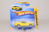 Hot Wheels 41; 2010 Ford Mustang GT; Pearl Yellow; 2010 New Models #41
