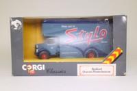 Corgi Classics C953/9; Bedford O Series Pantechnicon; Stylo Shoes