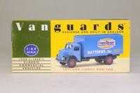Vanguards VA18000; Leyland Comet Box Van; Ever Ready Batteries, Blue