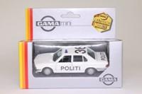 Gama 1157; 1985 BMW 528i E28; Politi, Danish Police