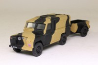 Corgi Classics 07501; Land-Rover Series 2 109; With Trailer; British Army