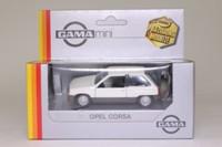 Gama 1159; 1982 Opel Corsa A; White, Grey Trim