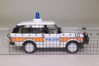 Matchbox King Size K-97/1; Range Rover Police Car; White, Orange Stripe